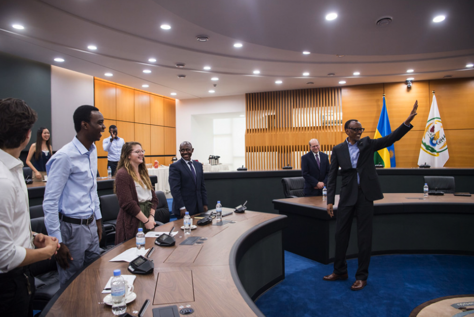 No Full Potential Unless Others Around You Benefit, Kagame Tells Carnegie Mellon Students
