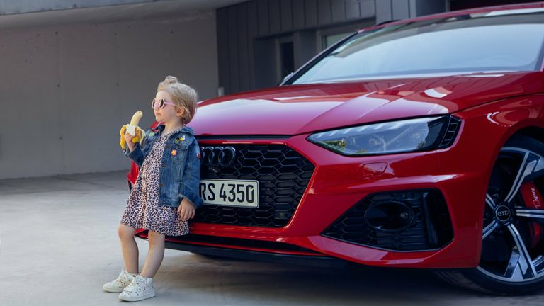 Audi Apologises For 'Insensitive' Advert Showing Little Girl Aating A Banana