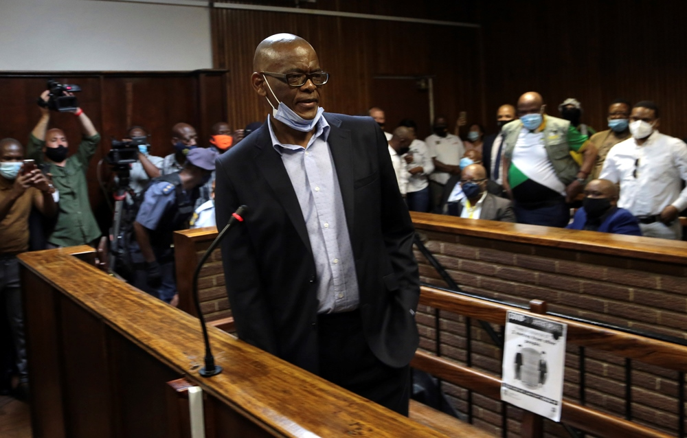 Top South African official due in court over corruption charges